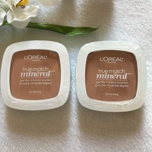 🆕 2 Pack Loreal SAND BEIGE Gentle Mineral Powder